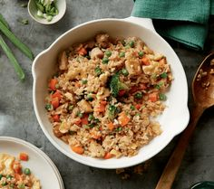 Chicken Fried Rice With Maple Soy Sauce Recipe | I love my food