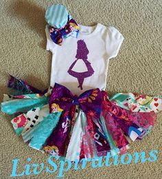 Hey, I found this really awesome Etsy listing at https://www.etsy.com/listing/254782730/alice-in-wonderland-outfit-birthday