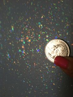 Gilry Me Glitter Wall Paint NEW GIRLY GLITZ - Top Coat Paint for Walls, Baby Room, Childrens Room, Boys and Girls