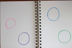 Playing House: What Can You Make With A Circle: Preschool Journal Preschool Journals, Preschool Literacy, Math Activities, Kindergarten, Preschool Boards, Preschool Ideas, Preschool Portfolio, Kids Reading, Guided Reading