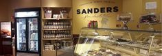 FIND YOUR NEAREST SANDERS LOCATION TO ENJOY & SHARE YOUR FAVORITE PRODUCTS TODAY. We currently have 7 Sanders Chocolate & Ice Cream Shoppes in Metro Detroit and 2 on Mackinac Island!