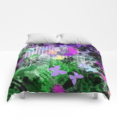 Into The Jungle Comforters Cushions, Pillows, Totally Awesome, Awesome Bedrooms, Comforters, Duvet, Curtains, Blanket, Abstract