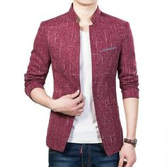 Men Suits new arrival solid color slim fit mens blazer fashion men casual suit jackets business outerwear M-5XL CYG128