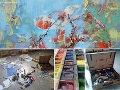 #AdamPoltorak #painting #studio