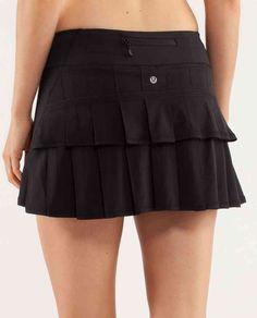 lululemon skirt!  Adorable ballet skirt!