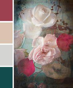 Color palette Floral Art by Kleurinspiratie.nl