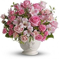 Pink Flower Arrangements Centerpieces | Pink floral arrangements are perfect for your wedding | My Wedding ...