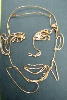 ARTISUN: 3-D Wire Sculptures - Student Art