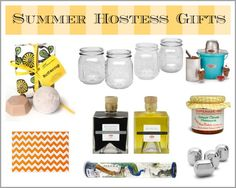 The Very Best Ideas for Summer Hostess Gifts  http://www.extraordinarymommy.com/extraordinary-home/the-very-best-ideas-for-summer-hostess-gifts/