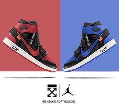 "e6ec5739c57e17 Heat Central Brotherhood on Instagram  ""Off White x Air Jordan 1 - Breds Or  Royal  📸  sneakrsforthought  jordan  jordan1  kicks  offwhite  jordans   nikes ..."