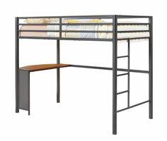 Twin Metal Workstation Loft Bed