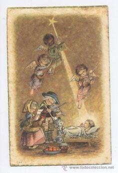 FELICITACION NAVIDAD *FERRANDIZ* - 1957 (Postales - Navidad)