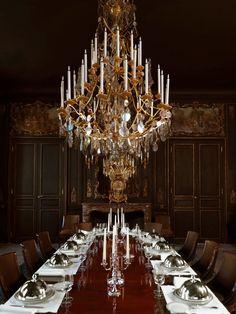 Interiores - El exclusivo Hôtel du Marc |