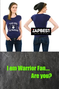Quality Hoodies and tees..Click here http://zapbest2.myshopify.com/collections/funny/products/girl-loves-the-warriors Made just for you! Printed in USA Fast Shipping! In Stock. Can Ship