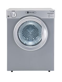 The compact White Knight C38AS vented dryer with reverse tumble is the perfect way to dry clothes quickly in a small home or flat. The space-saving design of this tumble dryer means this is perfect for smaller households, with a 3 kg capacity designed for quick drying without the need to hang wet clothes around your home.With 2 heat settings and a handy timer, you can adjust this versatile dryer to suit whatever load you give it.This White Knight vented dryer also features reverse tumbe and…