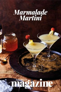 If Paddington Bear drank cocktails, this zingy twist on the classic Martini would surely be his favourite