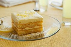 Comida Vegetariana: Tiramisú de limón