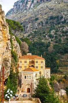 Qozhaya Monastery, Lebanon دير #قزحيا By Dr Harout Tanielian