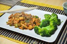 Mondi e Sapori: Gong Bao Ji Ding (o Kung Pao, Pollo alle arachidi) Bao, Broccoli, Chicken, Vegetables, Vegetable Recipes, Veggies, Buffalo Chicken, Cubs