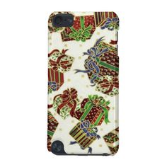 iPod Touch5g Christmas present pattern case
