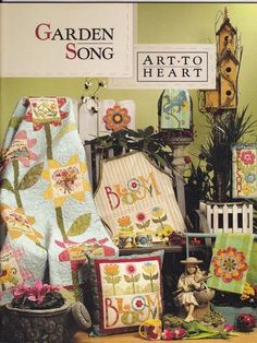 Art to Heart Garden Song - Sandra Vinivikas Artesanatos - Picasa Web Albums... FREE BOOK, PATTERNS AND INSTRUCTIONS!