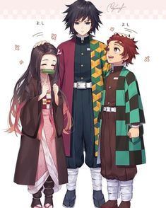 Kimetsu no Yaiba (Demon Slayer) Image - Zerochan Anime Image Board Manga Anime, Comic Anime, Fanarts Anime, Anime Demon, Otaku Anime, Anime Guys, Anime Art, Chibi, Manga Dragon