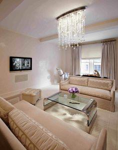 20 Pretty Cool Lighting Ideas for Contemporary Living Room - ArchitectureArtDesigns.com