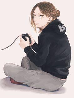 Kenma Kozume, Cute Anime Guys, Haikyuu Anime, Wall Prints, Anime Art, Cute Anime Boy, Art Of Animation