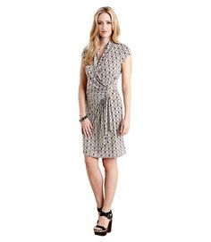 McCalls 6513 or Burda 6838 Moroccan Cascade Wrap Dress