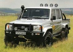 Land Cruiser 79 front