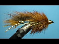 Barr's Meat Whistle Streamer Fly Tying Directions - YouTube
