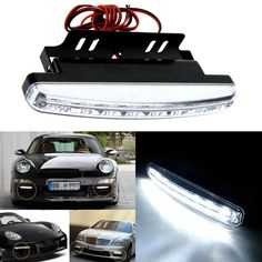 1.41$  Watch here - http://aliz2j.shopchina.info/go.php?t=32809308502 - 8LED Daytime Driving Running Light DRL Car Fog Lamp Waterproof White DC 12V@11111  #bestbuy