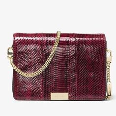 e9b8250bc33e Michael Kors Jade Snakeskin Mulberry Leather Clutch - Tradesy Leather Clutch,  Snake Skin, Tory