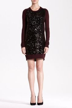 Danette Sweater Dress, Cashmere and Sequins, what else is there?