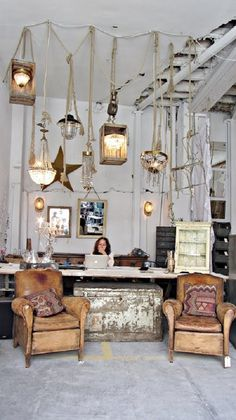 Lovely vintage interior store