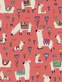 Timeless Treasures Alpaca Cuties by JeanMariesFabrics on Etsy