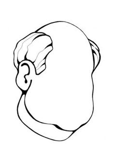 Human body coloring page 32 - Coloring Pages Colouring Pages, Coloring Sheets, Coloring Books, Activity Sheets For Kids, Body Drawing Tutorial, Hair Sketch, Felt Quiet Books, Grandparents Day, Art Tips