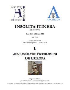 Italia Medievale: Enea Silvio Piccolomini e il latino dell'Umanesimo...