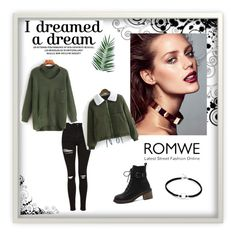 """""""Romwe 63"""" by zerina913 ❤ liked on Polyvore featuring Nika and romwe"""