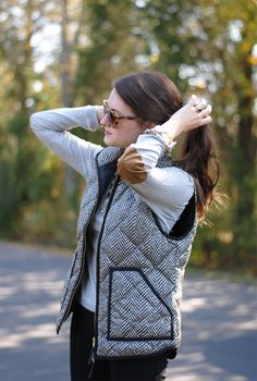Southern Curls & Pearls: Elbow Patches
