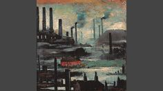 Industrial Landscape towards Wigan - L S Lowry. There is so much depth in this painting - the colour is almost luminous.