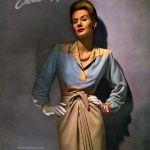 Enka Rayon / Clarepotter Original 1942, photo by George Hoyningen-Huene from My Vintage Vogue blog