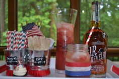 memorial day punch ideas