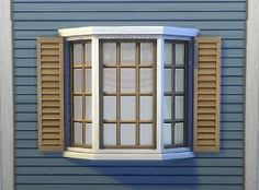 Mod The Sims - Two-tile Basic Bay Window