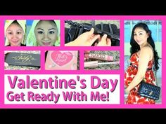 ▶ ❤ Valentine's Day Get Ready With Me: Hair, Makeup + Outfit! ❤ - YouTube