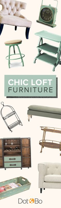 Chic Parisian Inspired Furniture & Décor   Shop Now at dotandbo.com