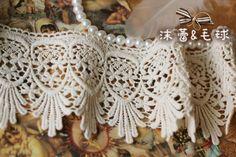 cotton+lace+trim+vintage+lace+trim+cotton+lace+by+LaceFun+on+Etsy,+$3.90