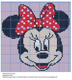 Minnie blanket - CROCHET