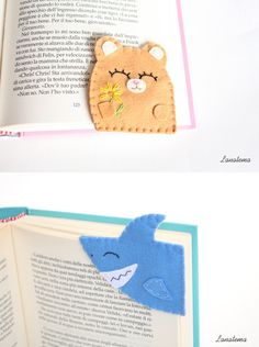 Felt Corner Bookmarks by Lanatema on Etsy Browse... |