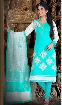 Turquoise Color Chanderi Silk Straight Cut Readymade Churidar Suit   FH512978102 #salwar, #kameez, #readymade, #anarkali, #patiala, #pakistani, #suits, #online, #stitched, #indian, #dress, #material, #shopping, #fashion, #boutique, #mode, @heenastyle , #designer , #pakistani , #evening , #wedding , #casual , #palazzo , #patiyala , #punjabi , #churidar , #narrow